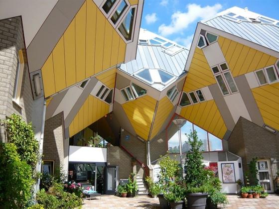 As Casas Cúbicas de Roterdã